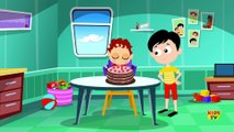 Five Red Apples Jumping On The Bed - Nursery Rhymes For Children by Kids Tv