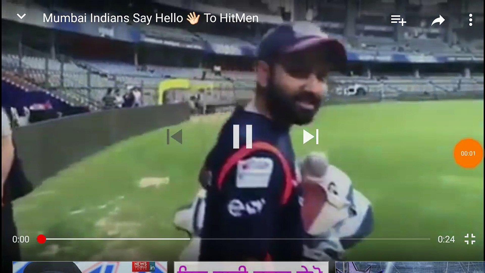 IPL 2018 Mumbai Indian vs csk highlights.  Rohit Sharma net batting vedio.  Rohit Sharma 265 run hig