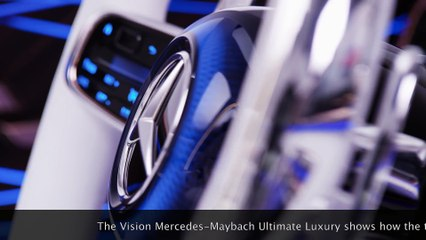 The Vision Mercedes-Maybach Ultimate Luxury - combines an exclusive high-end saloon and an SUV