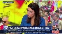 Manifestation interprofessionnelle à l'appel de la CGT: pas de convergence des luttes ?