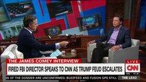 'I don't hate him': James Comey explains his surprising relationship to 'bully-like' Trump to CNN's Tapper