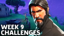 Fortnite Battle Royale Season 3 Week 9 Challenges Walkthrough