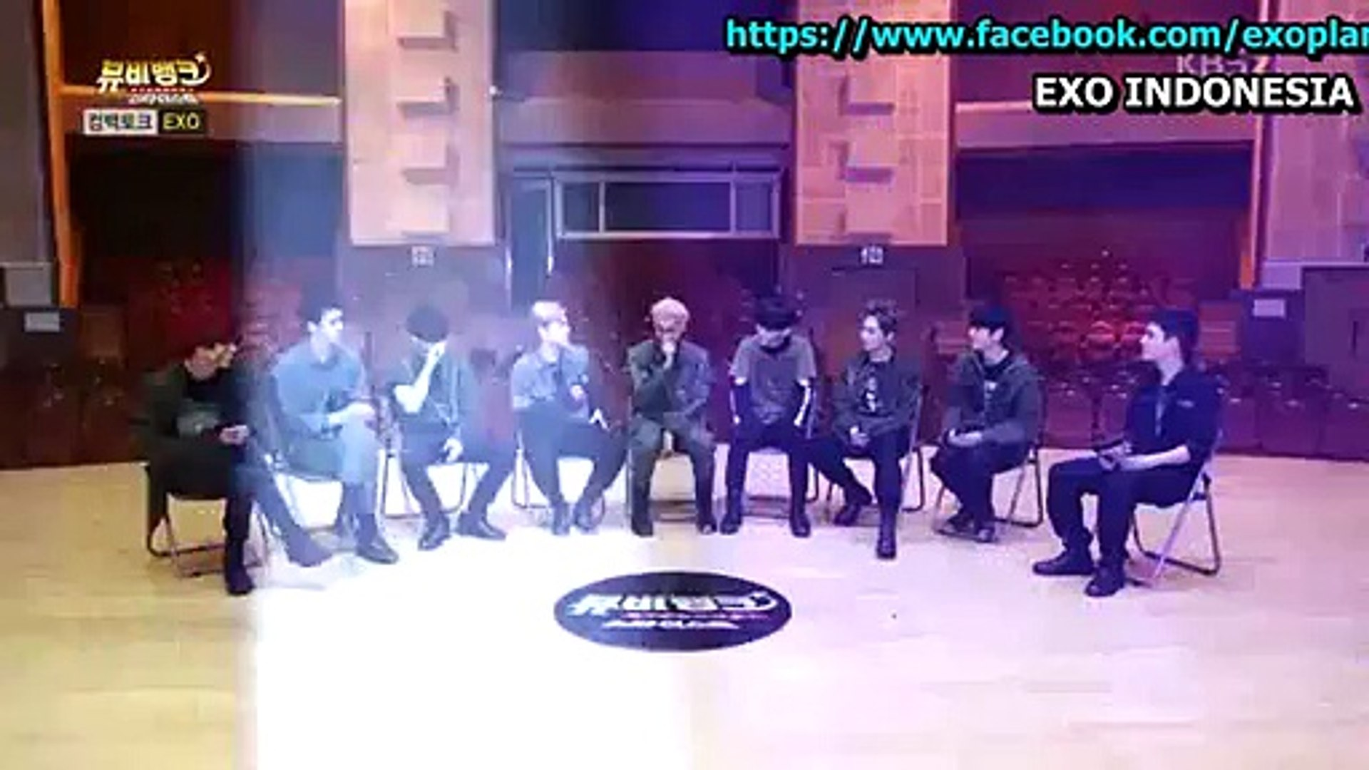 INDOSUB] 160615 Mubank EXO comeback Talk Full cut - video