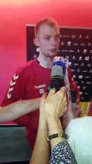 Handball   Interview : Julien Meyer après Chambéry-Göppingen (coupe EHF)