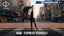 H&M Demin Features Tapdancer Nathan Mitchell Presenting Express Yourself | FashionTV | FTV