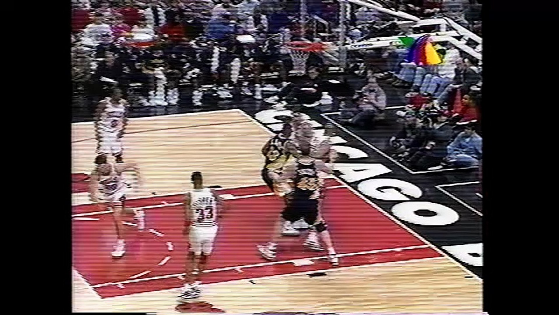 Partido TV Azteca Bulls vs Pacers 1996 Parte 2