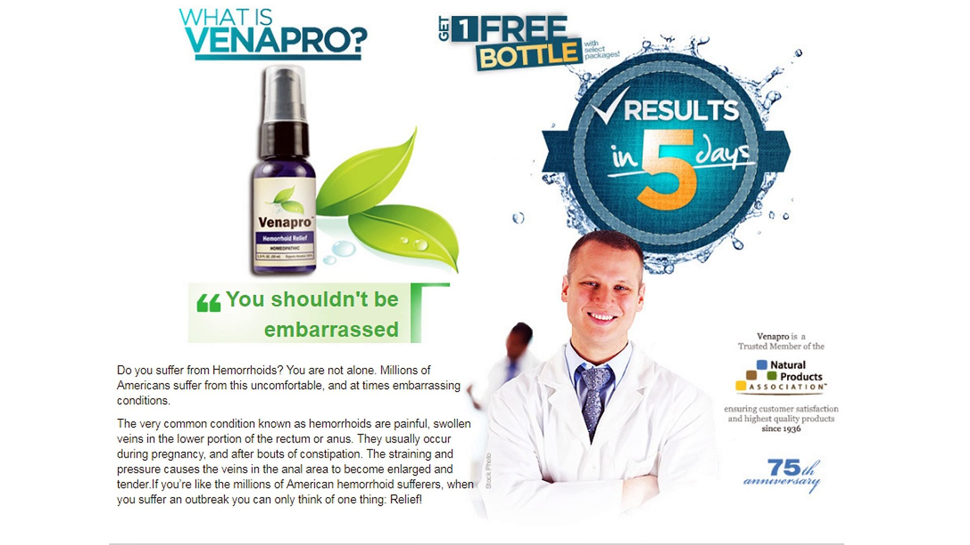 Venapro Homeopathic Hemorrhoid Buy Venapro Buy Venapro For Fast