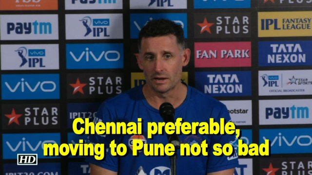 IPL 2018 |  Chennai preferable, but moving to Pune not so bad:  Michael Hussey