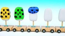 Lernen Sie Farben Mit 3D Paste & Überraschung Eier Für Kinder Kinder Kleinkinder Baby