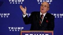Rudy Giuliani entra nel team legale di Trump