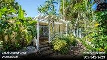 Single Family For Sale: 2900 Calusa St Coconut Grove,  $939000