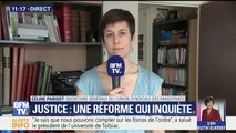 """Réforme de la justice: """"[Le gouvernement] veut gagner du temps en ne voyant plus les gens"""" (Union syndicale des magistrats)"""