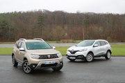 Dacia Duster vs Renault Kadjar