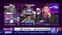Heated Debate B-w Kashif Abbasi & Hafeez Ullah Niazi