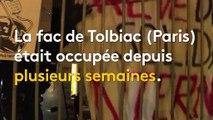 """""""J'ai pris des coups de pied"""" : une étudiante raconte l'évacuation de l'université de Tolbiac"""