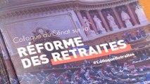"""[Réforme des retraites] Colloque sur la réforme des retraites """"Équité, équilibre, simplification"""""""