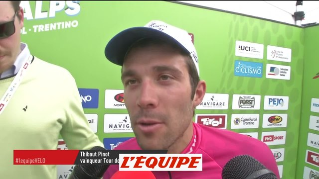 Pinot «Une des plus belles victoires de ma carrière» - Cyclisme - Tour des Alpes