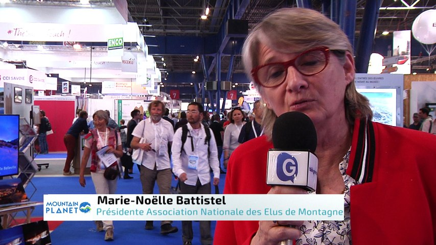 Mountain Planet 2018 - Interview de Marie-Noëlle Battistel