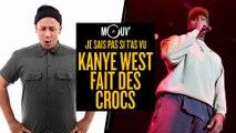 Je sais pas si t'as vu... Kanye West fait des Crocs #JSPSTV