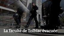Images de la faculté de Tolbiac, évacuée après vingt-cinq jours de blocage