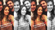 Mira Rajput, Shahid Kapoor and Ishaan Khatter Pose a Cool Selfi