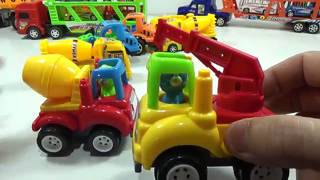 Baby Studio – Trucks collection | truck toys | Car toys