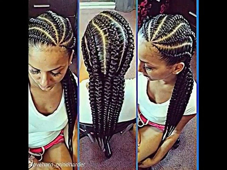 Natural Hair Cornrow Styles Cornrow Hairstyles Video Dailymotion