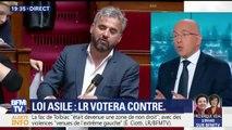 """Éric Ciotti affirme que Les Républicains """"voteront contre"""" la loi """"asile et immigration"""", qu'il juge """"dangereuse"""""""