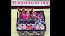 DIY 24 Lipstick Holder Organizer