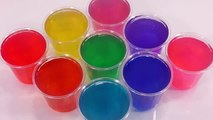 How to Make Rainbow Colors Soju Cup Pudding Jelly Recipe Learn Colours DIY 레인보우 소주컵 푸딩 젤리 만들기 요리놀이