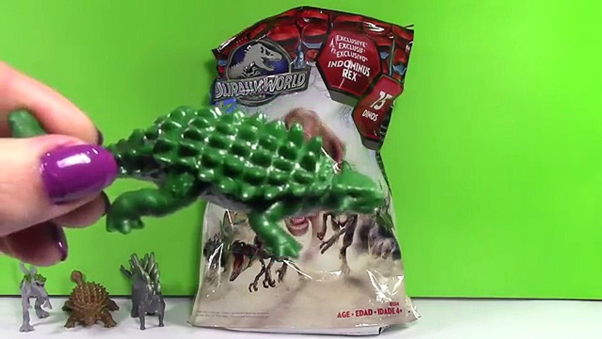 Jurassic world Surprise Jurassic World Sorpresas - Juguetes de Dinosaurios, videos de dinosaurios