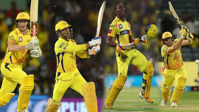 IPL 2018 CSK Vs RR: Shane Watson, MS Dhoni, Dwayne Bravo batting stars of CSK | वनइंडिया हिंदी