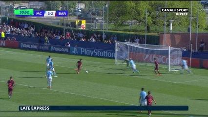 Youth League : Le résumé de la 1/2 finale Manchester City / FC Barcelona