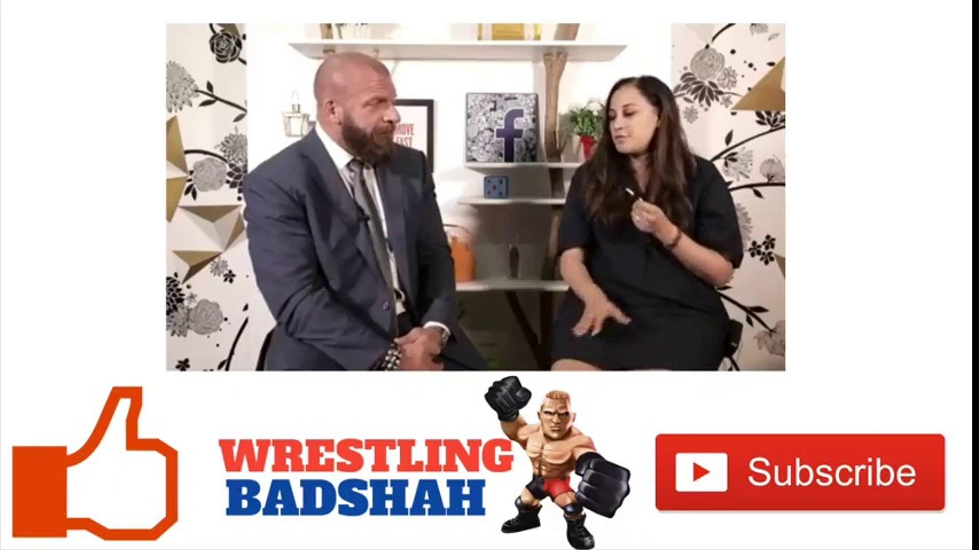 Triple H rocking AMITABH BACHCHAN'S famous dialogue!!
