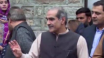 Exclusive Media Talk of Khawaja Saad Rafique