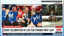 The Funeral of First Lady Barbara Bush. #Breaking #BarbaraBush #USA #Bush