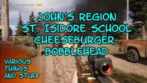 Far Cry 5 John's Region St. Isidore School Cheeseburger Bobblehead