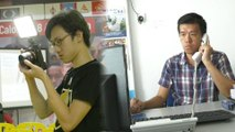 Young volunteers work hard to help candidates win GE14
