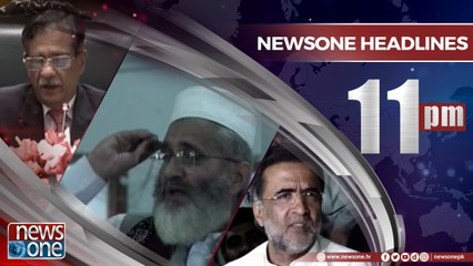 NewsONE Headlines 11PM | 21-April-2018