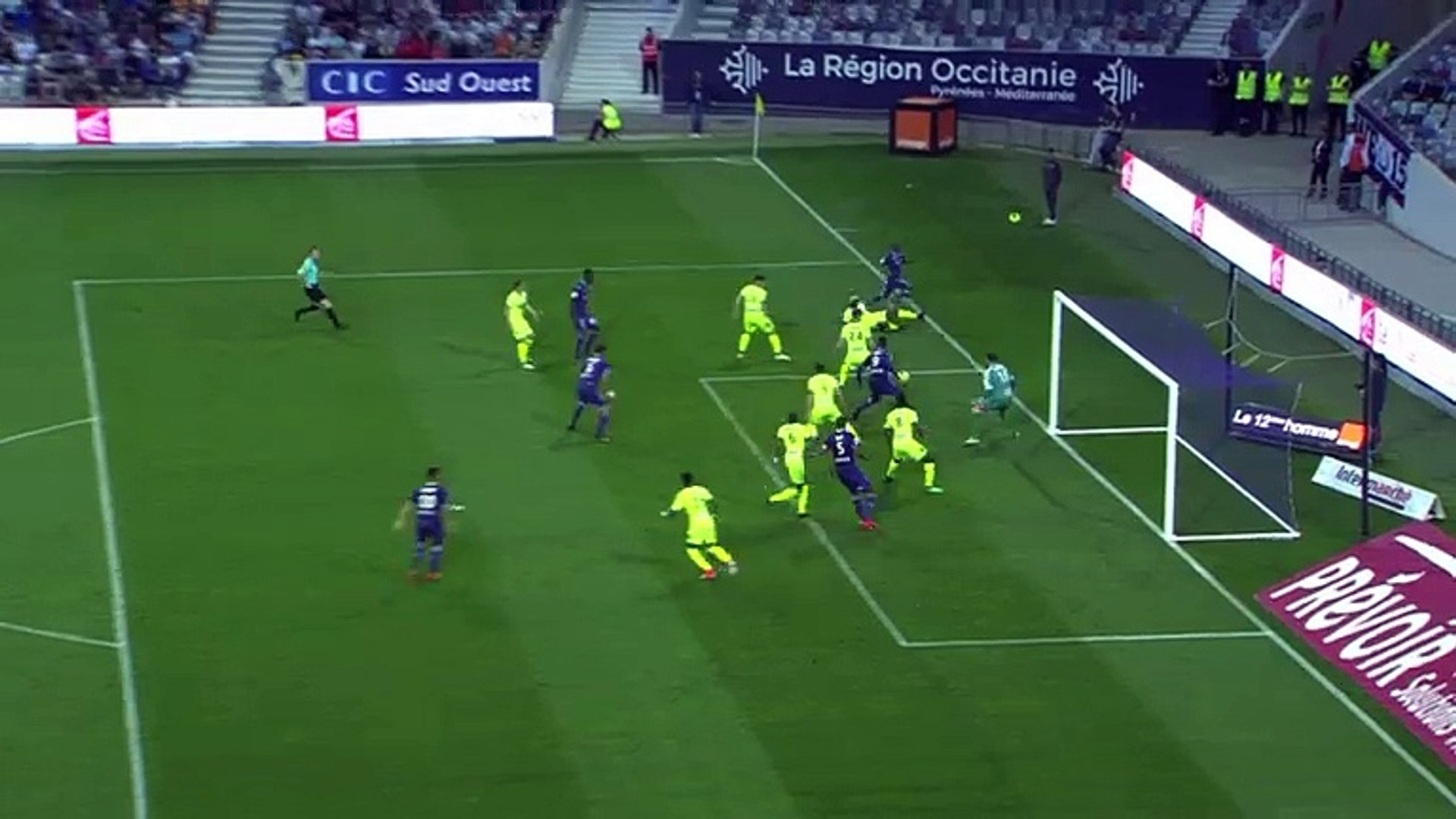 Yaya Sanogo Goal HD - Toulouse1-0Angers 21.04.2018