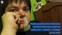 The Hot Viral Trend Among Teens Today? Condom-Snorting