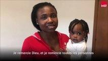 La fillette 'Mercy' qui a inspiré la chanson de Madame Monsieur a été retrouvée dans un camp de réfugié