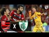 Flamengo 2 x 0 América-MG - Gols & Melhores Momentos (1º Tempo) Brasileirão 21/04/2018