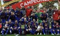Barcelona Bekuk Sevilla 5-0 di Final Copa Del Rey