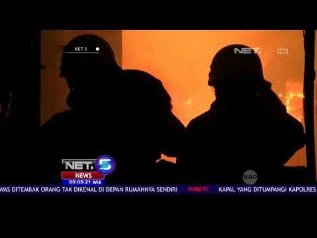 Puluhan Rumah Di Tambora Terbakar -NET5
