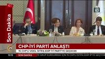 #SONDAKİKA Kılıçdaroğlu, 15 CHP'li vekil ile Akşener'e destek verdi