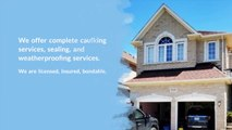Window Caulking Toronto - Caulking Professionals