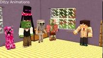 Monster School Minecraft Animation DANTDM, TheDiamondMinecart - Funniest Minecraft Animations 2017