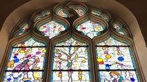 Inauguration des vitraux d'une des plus belles églises de Sarthe