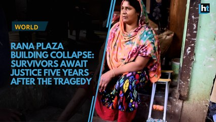 Bangladeshi workers await justice five years after Rana Plaza tragedy